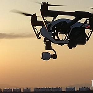 マルチコプター空撮事業のイメージ